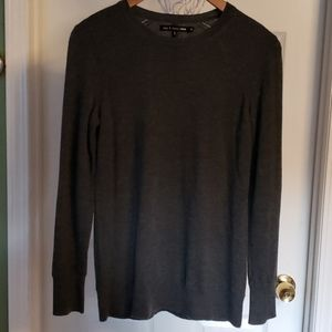 Rag & Bone Jean Gray Crew Neck Sweater